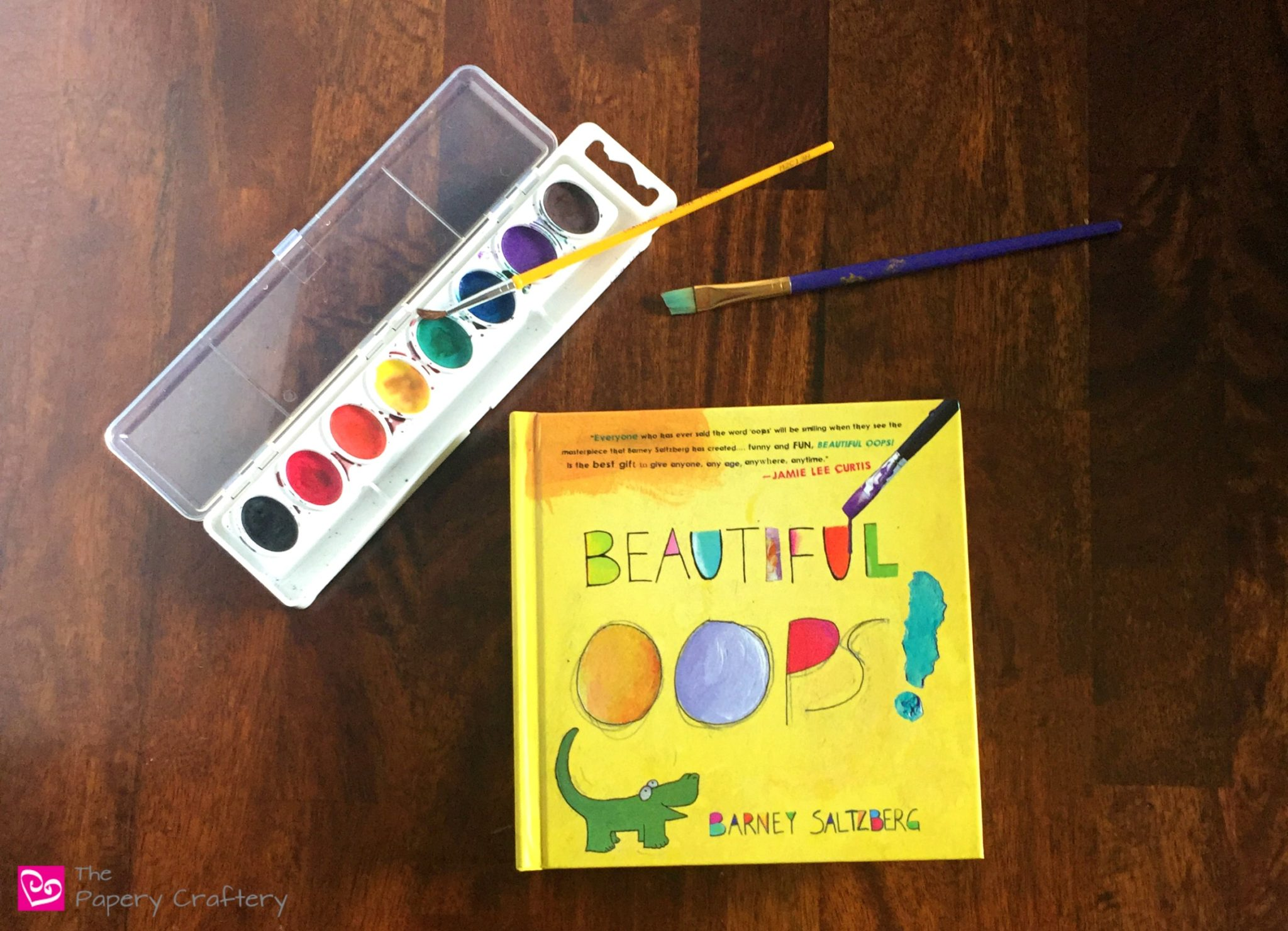 Beautiful Oops ~ An Art Book for Children. Stretch that imagination and see that no drip, drop or blotch is a mistake! || www.thepaperycraftery.com