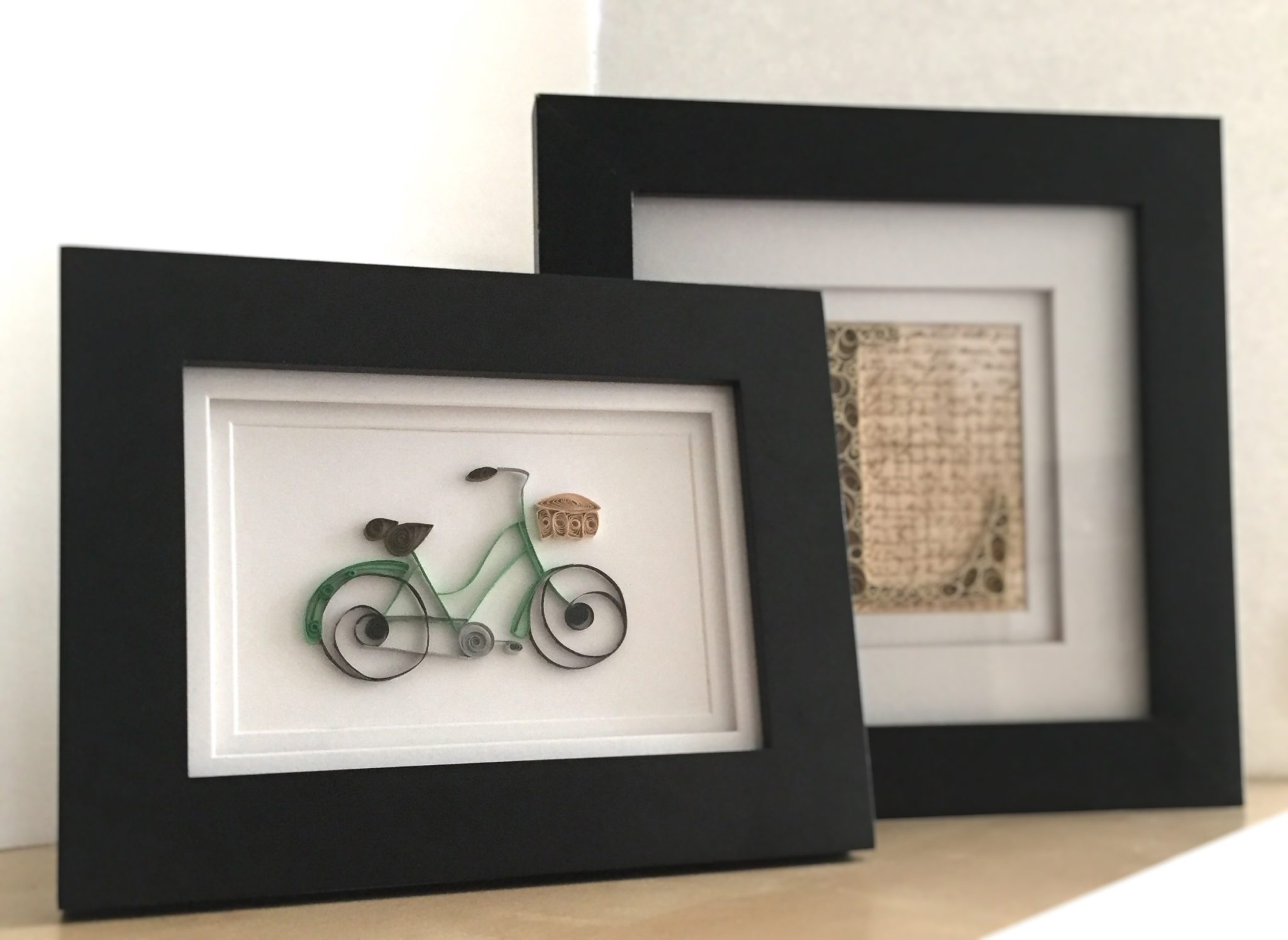 How To Frame Quilling Paper Art